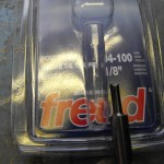Freud straight bit 1/8 inch