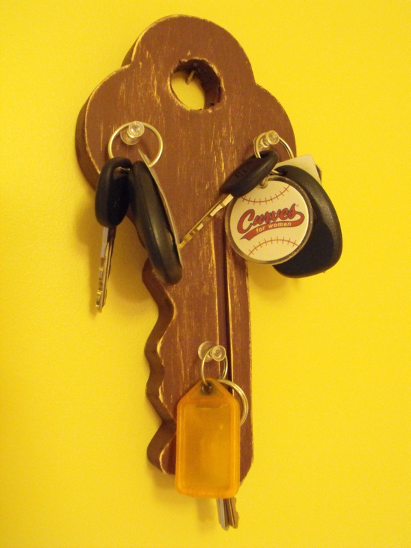 key rack,craft proejcts,scrollsawing