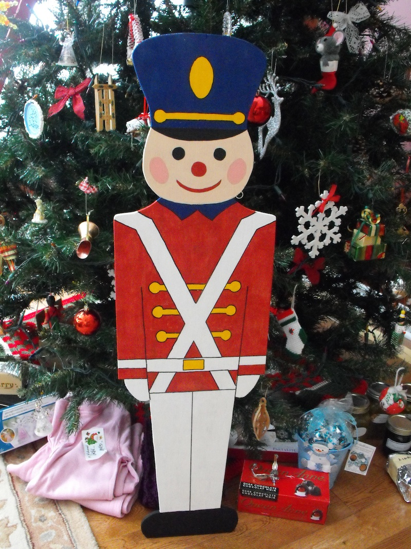 toy soldier,Christmas projects,crafts,babes in toyland,gifts,wodworking,hobby,painting,downloadable PDF
