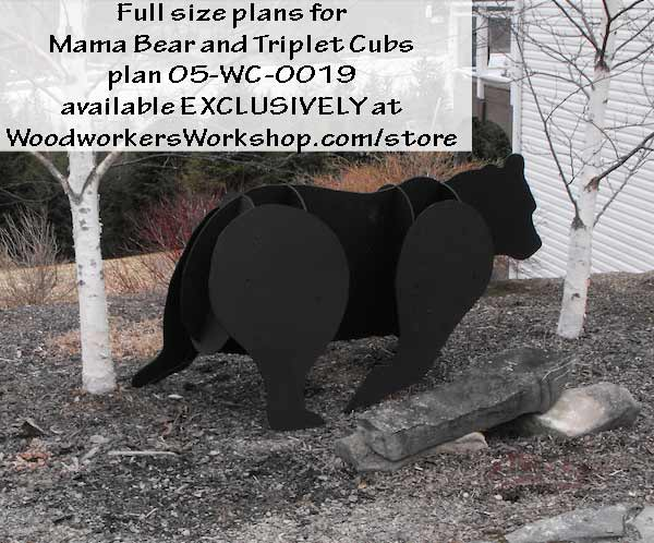 woodworking plans,patterns,projects,bears,3D,plywood,bears,nimals