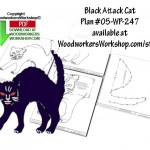 black cat,Halloween,scary,scrap wood projects,downloadable PDF,tole painting wood crafts,scrollsawing patterns