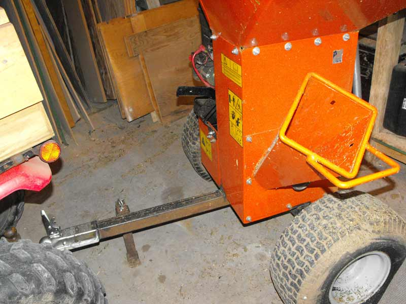 diy,homemade trailers,towing,quad,Bearcat wood chipper shredder 70085