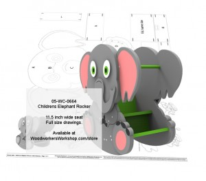 woodworking plans,childrens rocking chairs,rockers,elephants