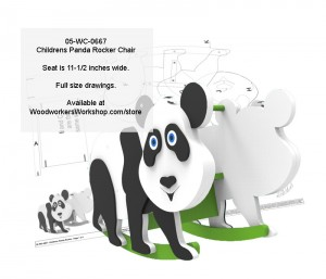 pandas,rocking chairs,childrens,kids furniture
