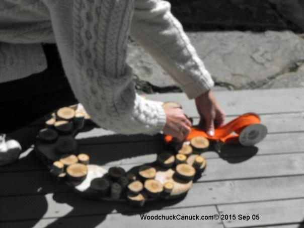Nova Scotian hand made crafts,wooden wreaths