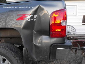 auto body work,damaged fender,paint,Hwy & collision Center