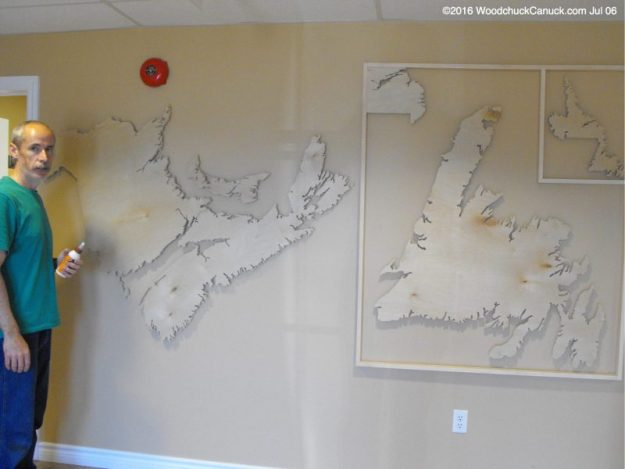 wooden maps,Atlantic Canada,CBDC,development