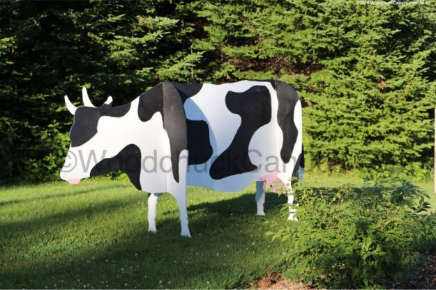 3D cows,large,farm animals,plywood projects