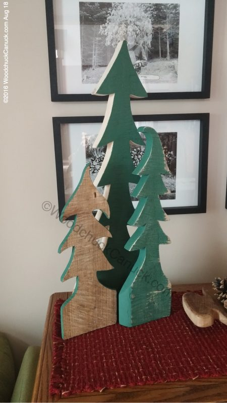 scrap wood projects,Christmas trees