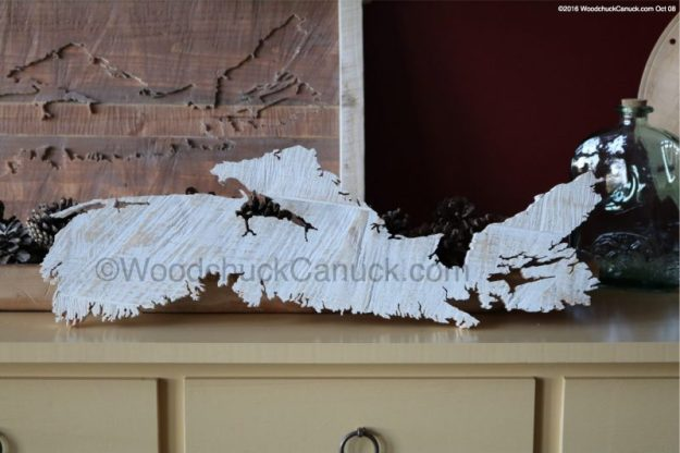 wooden maps of Nova Scotia,primitive crafts,scrollsawing