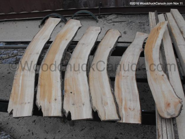 tumbers,curved planks,saw milling