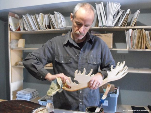 moose antlers,wildlife,staining,woodworking projects,plywoodworking