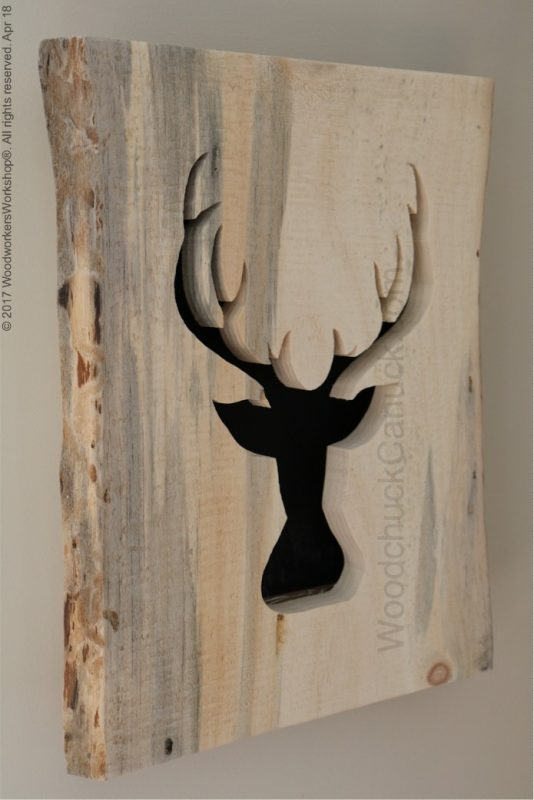 deer head lightbox,woodworking,crafts,hand made,Made in Canada,Made in Nova Scotia