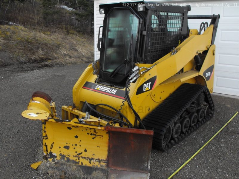 CAT MTL with v-plow