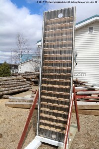 solar panel converted