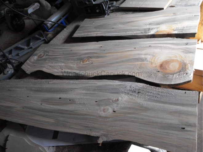 blue denim pine boards, woodworking