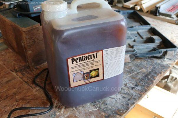 Pentacryl,wood preservative,woodworking,sawmilling