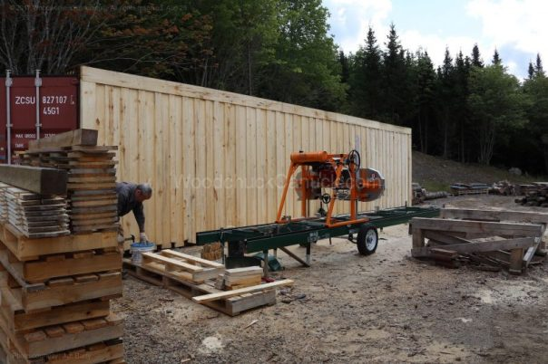 sawmill,shipping container