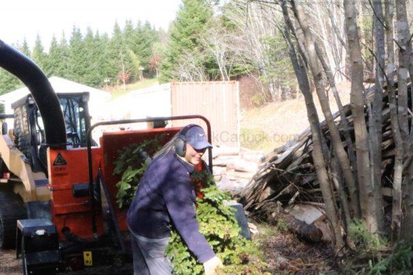 woodchipper