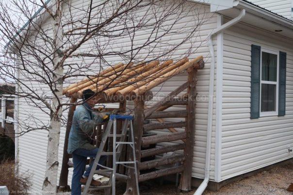 heat pump,shelter,windy