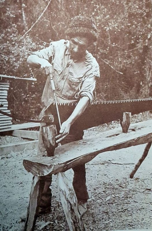 whip saw sharpening,saw milling history,sawyers