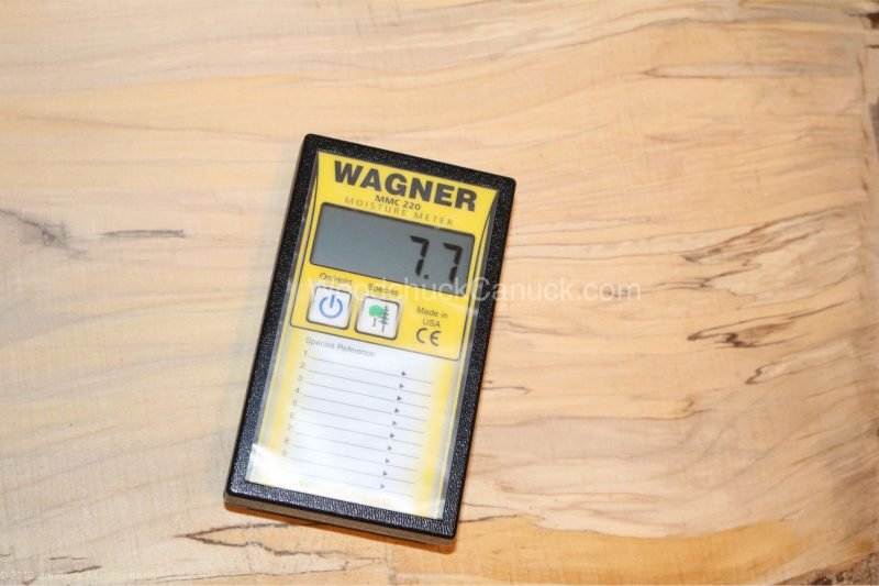 moisture meters,measuring moisture content in sugar maple,woodworking,carpentry,tools,metre