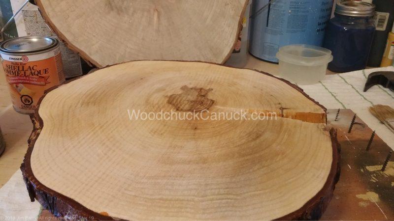 polyurethane,wood slices