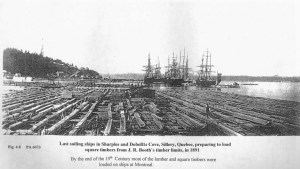 woden mast ships,sawmilling,vintage photos,booming grounds