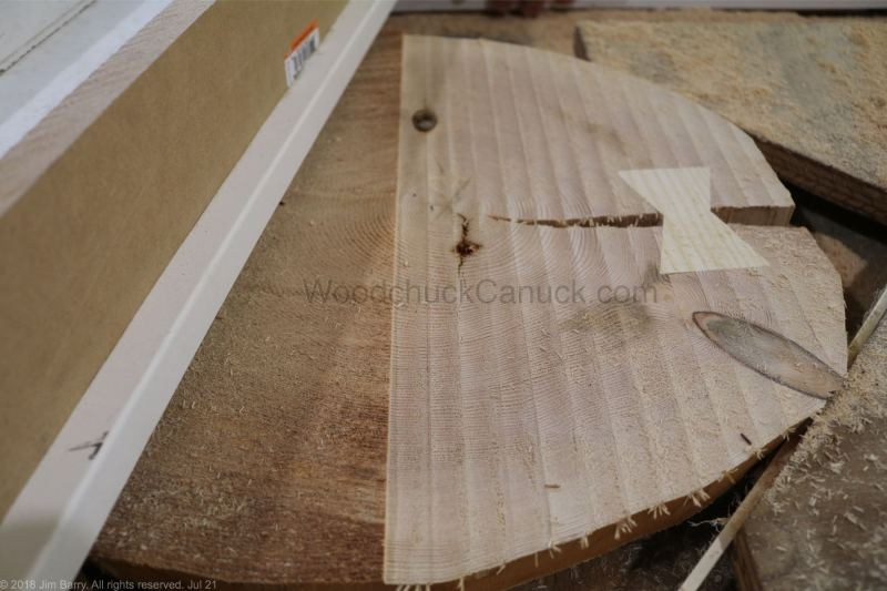woodworking,how to use a router sled to flatten end grain,hand crafted,Nova Scotia,Antigonish