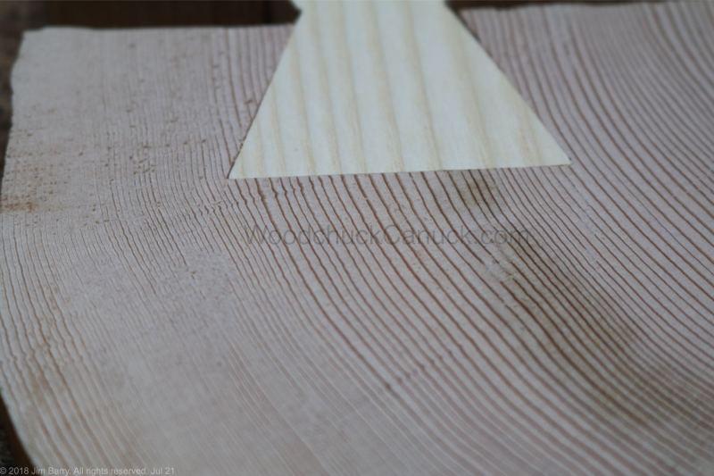 hemlock,end grain,wodworking,butterfly joints