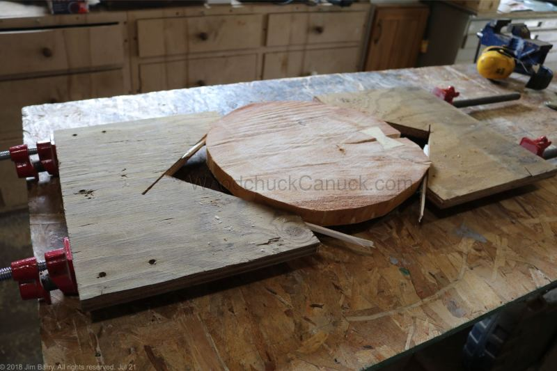 how to flatten end grain with a router,,woodworking,made in Nova Scotia,Antigonish