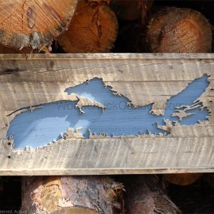 Barn wood map of Nova Scotia #64,hand made,woodworking,Antigonish county