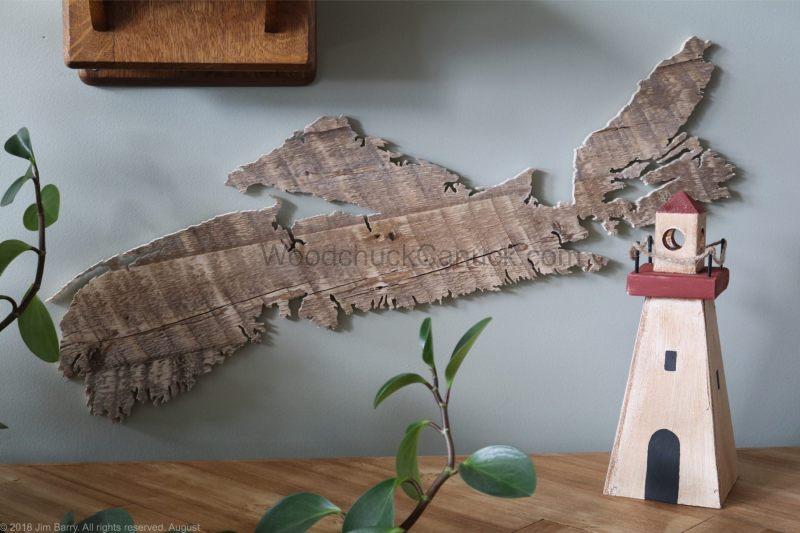 wood maps,Nova Scotia,lighthouses,made in Nova Scotia
