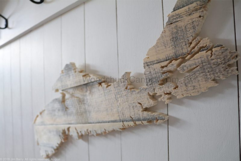 barn wood,wood maps,hand made wood crafts,Nova Scotia,Antigonish county