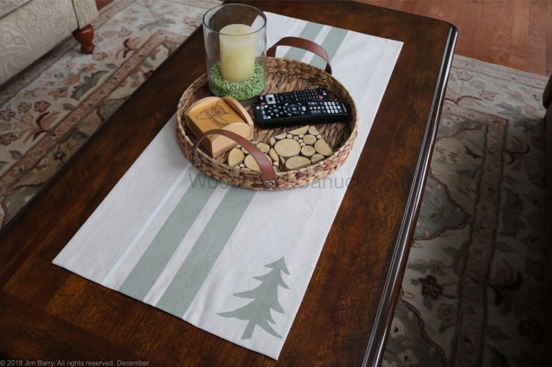 diy table runner,drop cloths,painted stripes