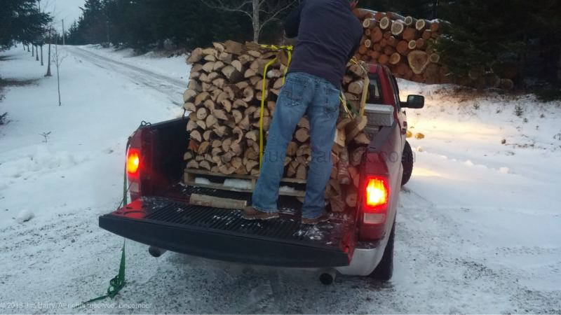 firewood sales, Antigonish County