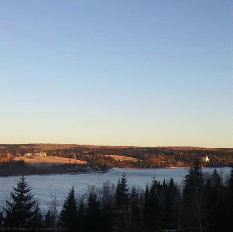 sunrise, Monday, March