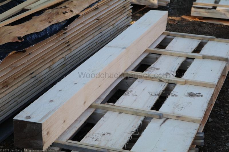 pine beams, lumber, sawmilling, Antigonish County, Guysborough County, Nova Scotia, pine beams