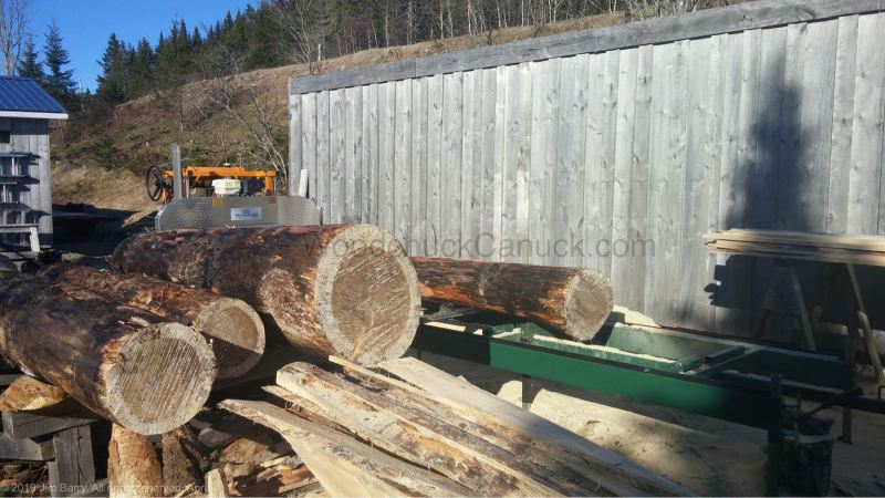 custom saw milling, Nova Scotia, Antigonish County, Loch Katrine, Goshen, Guysborough County, sawyer, lumber, logging