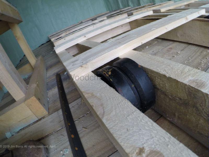 wood kiln, building, lumber, wood drying