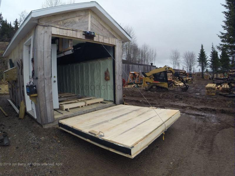 kiln building, wood drying, drawbridge, Antigonish County, Nova Scotia