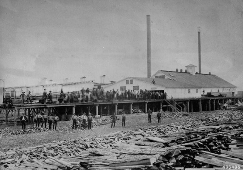 1880 Emery Lumber Co. sawmill.