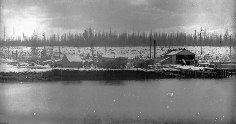 Vintage logging - Sawmills - WoodchuckCanuck.com