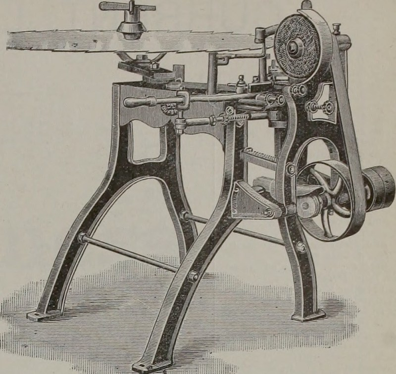 1908 circular saw blade sharpener.