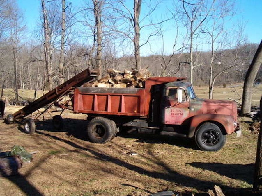 Firewood trucks. They don't make them like this any more.