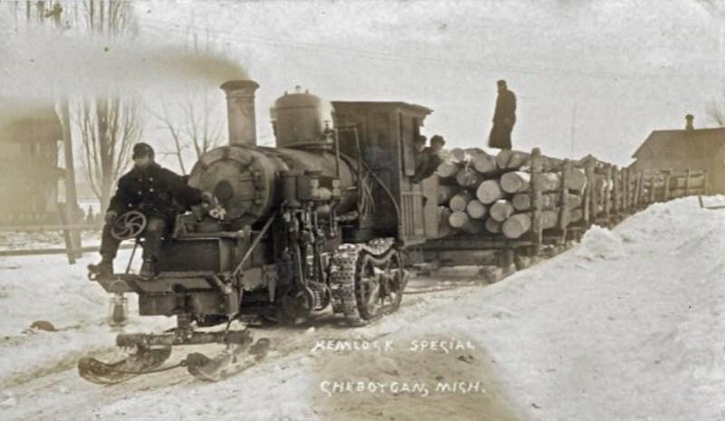 1903 Winter logging