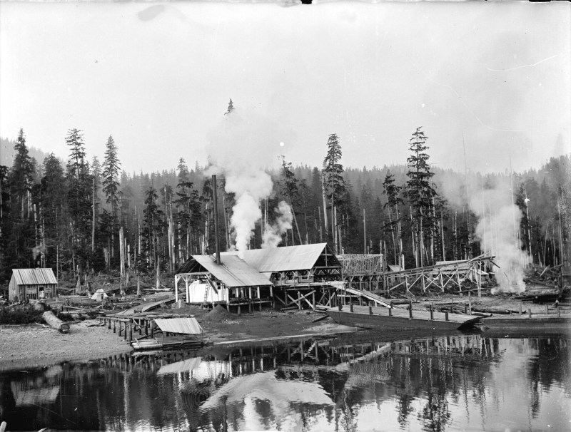 1900s Fraser Valley Sawmill