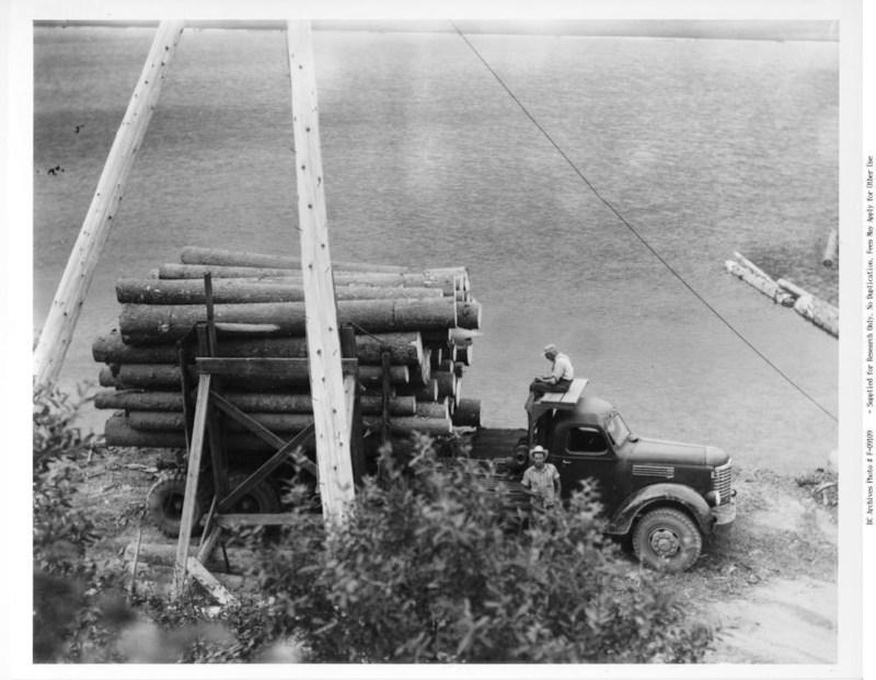 1950s Holding Lumber Co. Adams Lake.