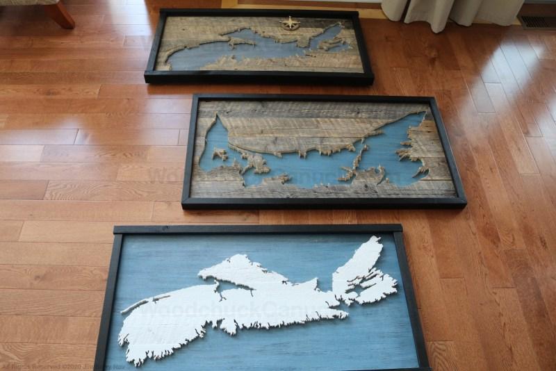 Wood maps.