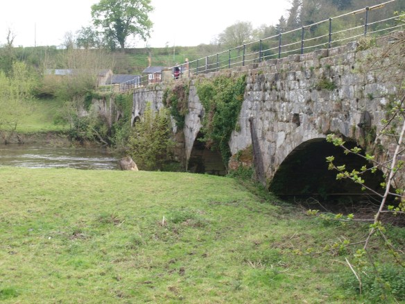 Aqueduct carrying the Montgomery Canal over The River Vyrnwy